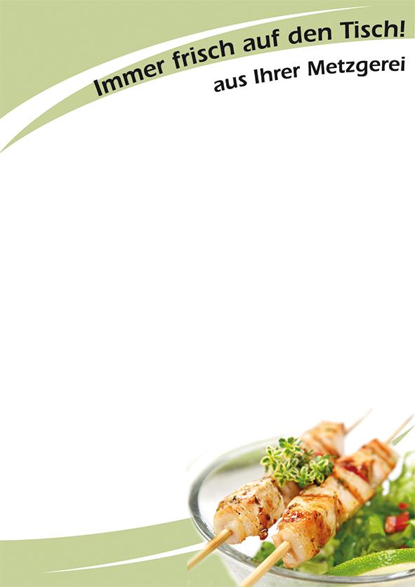 """Plakat """"Frisch auf den Tisch"""", DIN A1, 50 Plakate pro Pack"""