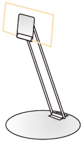 Edelstahl-Preisschilderständer, 100 mm Stablänge, kippbar, 10 Stück pro Karton
