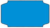 Haftetiketten, permanent, 31 x 19 mm, blau, 32 Rollen à 1.000 Etiketten