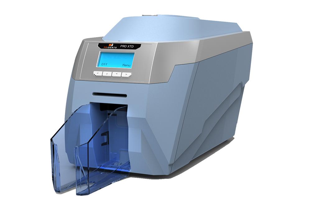 Kartendrucker Pridento pro Xtended, für 140 x 54 x 0,50 mm