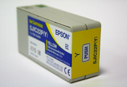 Farbpatrone gelb für Epson TM-C3500