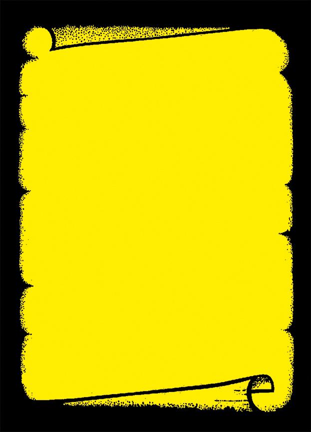 """Plakat """"Dokumentenrolle"""", DIN A1, gelb, 50 Plakate pro Pack"""