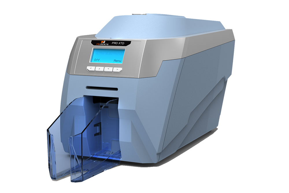 Kartendrucker Pridento pro Xtended, für 140 x 50 x 0,50 mm