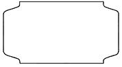 Haftetiketten, starkhaftend, 31 x 19 mm, weiß, 32 Rollen à 1.000 Etiketten