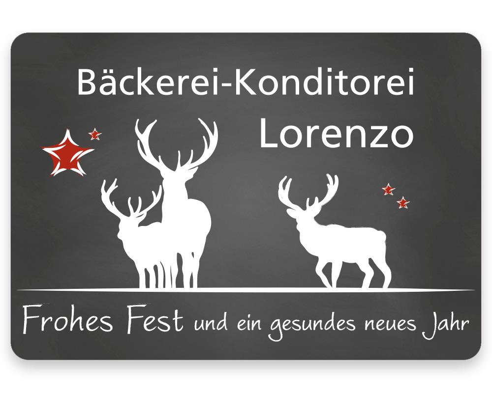 Weihnachtsetiketten, 50 x 35 mm, Version 75, 1 Rolle à 1.000 Etiketten