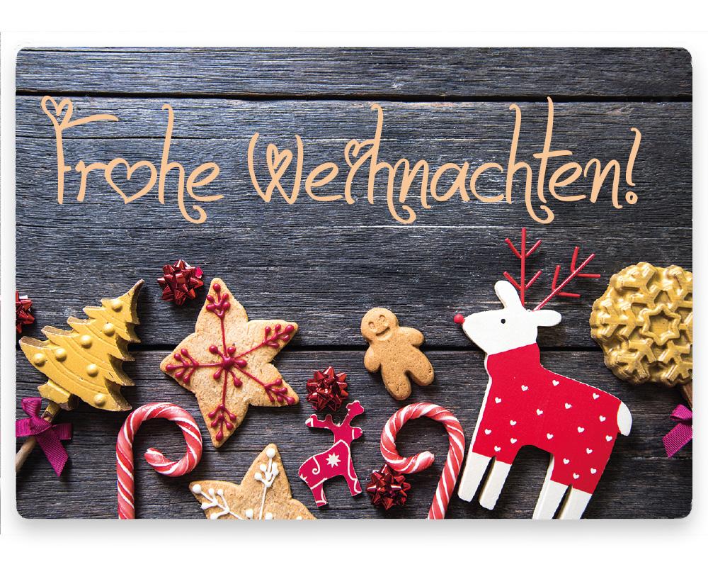 Weihnachtsetiketten, 50 x 35 mm, Version 71, 1 Rolle à 1.000 Etiketten