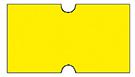 Haftetiketten, ablösbar, 21 x 12 mm, Leuchtfarbe gelb, 50 Rollen à 1.000 Etiketten
