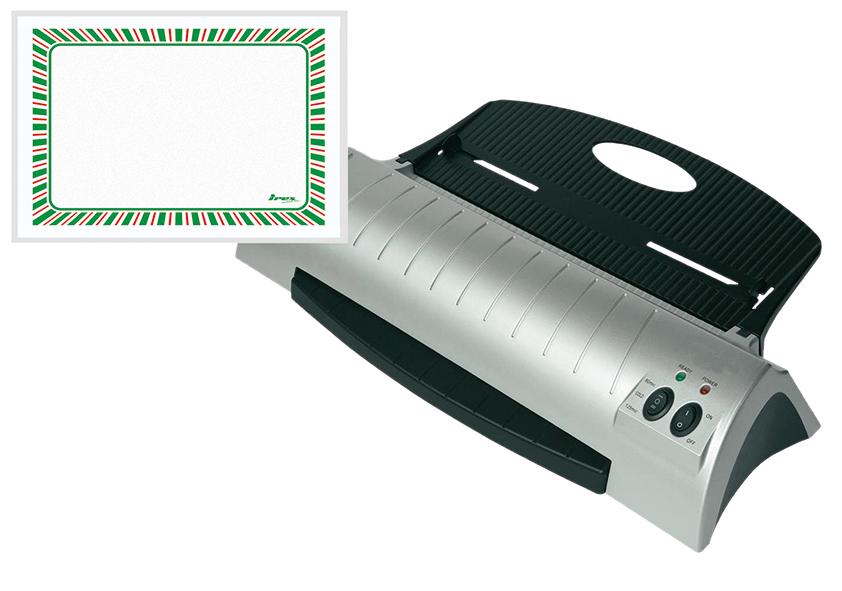 Laminierfolien für Laminiergeräte, 52 x 148 mm, 100 Stück pro Pack