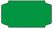 Haftetiketten, ablösbar, 31 x 19 mm, leuchtgrün, 32 Rollen à 1.000 Etiketten