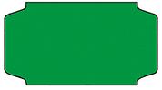 Haftetiketten, permanent, 31 x 19 mm, leuchtgrün, 32 Rollen à 1.000 Etiketten