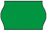 Haftetiketten, permanent, 26 x 12 mm, Leuchtfarbe grün, 36 Rollen à 1.000 Etiketten