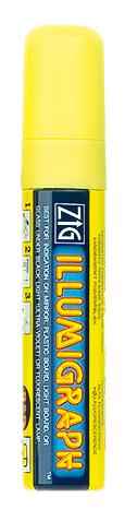 Kreideschreiber, 10 - 15 mm breit, gelb