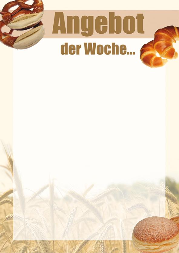 "Plakat ""Angebot der Woche"", DIN A1, weiß, 50 Plakate pro Pack"