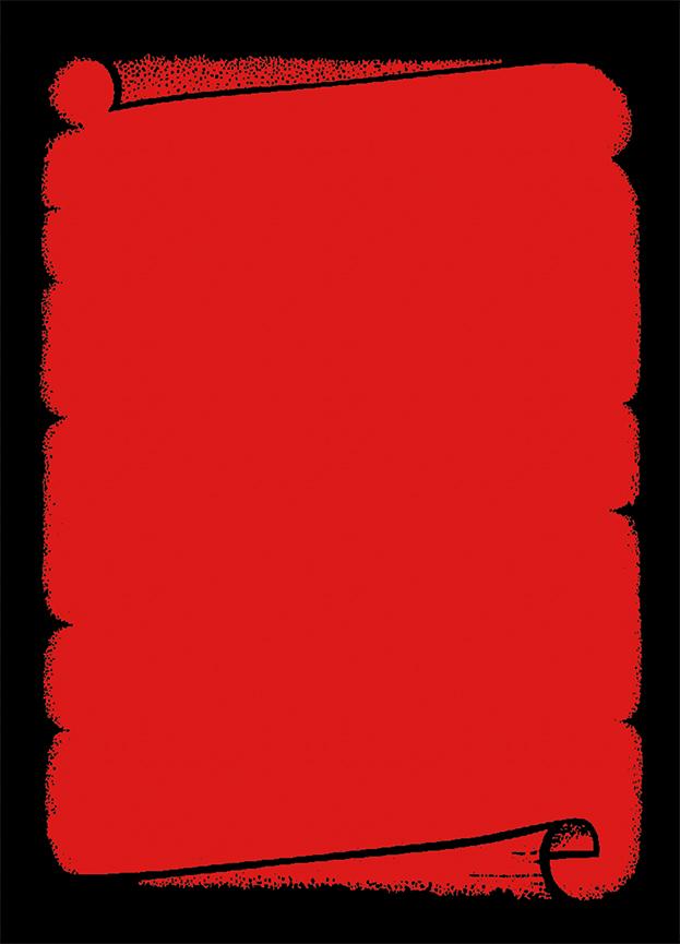 """Plakat """"Dokumentenrolle"""", DIN A2, rot, 50 Plakate pro Pack"""