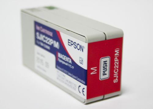 Farbpatrone magenta für Epson TM-C3500
