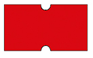 Haftetiketten, permanent, 21 x 12 mm, rot, 50 Rollen à 1.000 Etiketten